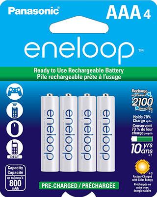 Panasonic Eneloop BK-4MCCA4BA AAA Rechargeable Battery
