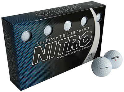 Nitro-Ultimate Distance Golf Ball