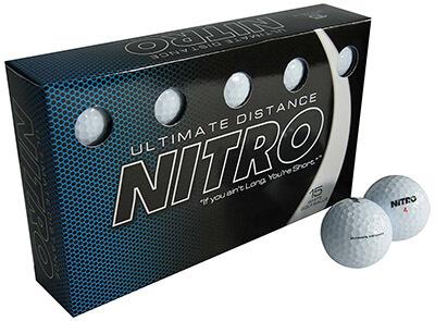 Nitro-Ultimate Distance Golf Ball