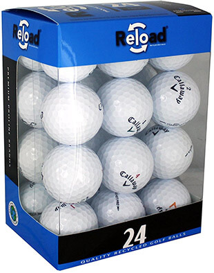 Callaway Reload Recycled 24-Pack Golf Balls