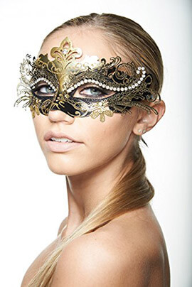 KAYSO INC Laser Cut Masquerade Mask Exclusive Eyes of Angel