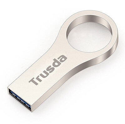 Trusda Metal USB Flash Drive, USB 3.0, 64GB
