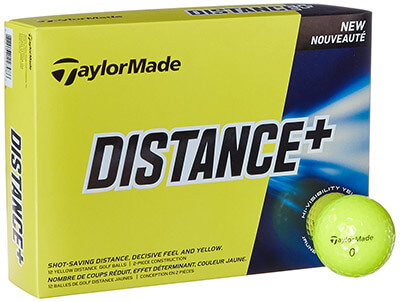 TaylorMade Golf Ball Distance Plus