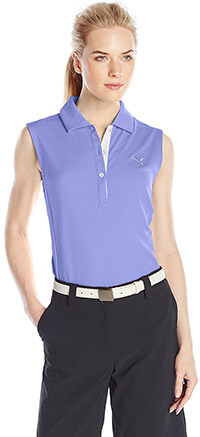 Puma Golf Women's Tech Golf Sleeveless Shirt