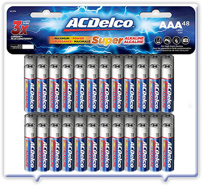 ACDelco AAA Super Alkaline Batteries