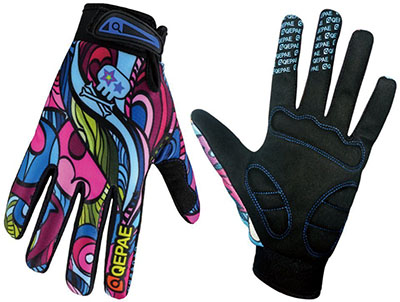 QEPAE Full-finger Cycling Gloves