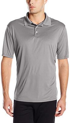 Hanes Sports Cool DRI Performance Polo Men's Golf Shirts