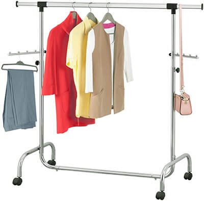 Tatkraft Falcon Adjustable Clothes Rack