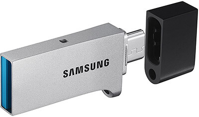 Samsung Duo Flash Drive, 64GB, USB 3.0