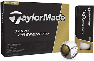 TaylorMade 2016 Tour Preferred Golf Balls
