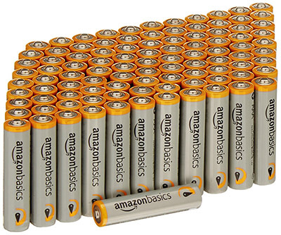 AmazonBasics AAA Performance 100-pack