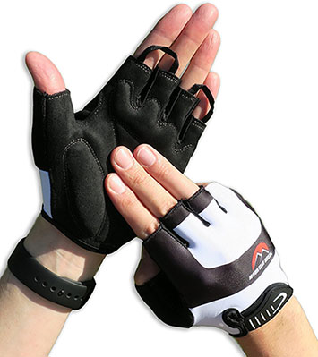 Mountain Break Half-Finger Bike Gloves