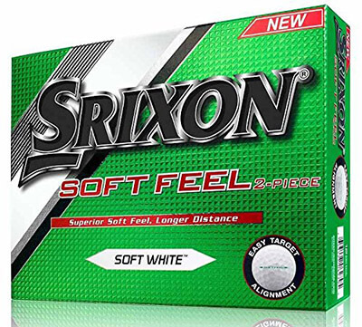 Srixon Men's Soft Feel 2016 Golf Balls – Dozen