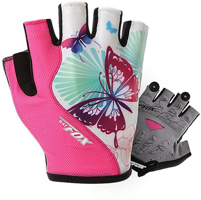 DuShow Short Half Finger Gloves for Cycling