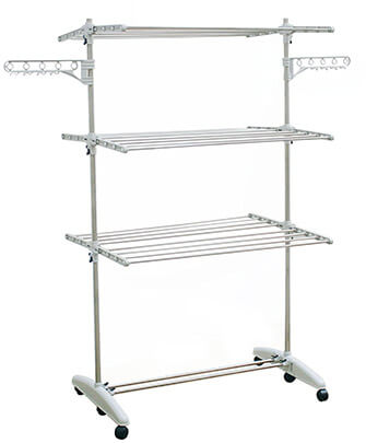 LiwooLiving Stainless Clothes Drying Stand