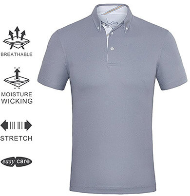 Eagegof Men's Golf Shirts