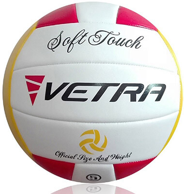 Vetra Volleyball Soft Touch Volley Ball - Official Size 5