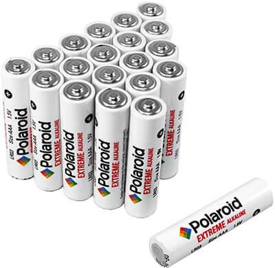 Polaroid Extreme Alkaline AAA Batteries