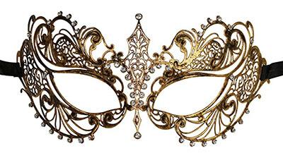 KAYSO INC Exclusive Venetian Vintage Laser Cut Masquerade