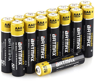 Batmax Rechargeable AAA Batteries