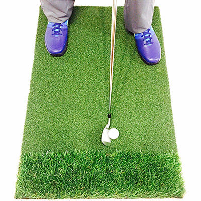 Motivo Golf StrikeDown Dual-Turf Pro Golf Mat