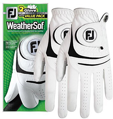New Improved 2018 FootJoy WeatherSof Men's Golf Gloves