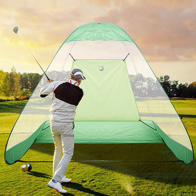 Eshion Portable Pop-Up Golf Driving Hit Range Net