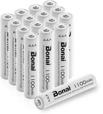 Bonai Triple A Rechargeable Batteries