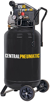 Central Pneumatic Vertical Air Compressor