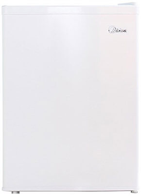 Midea WHS-87LW1 Single Reversible Door Refrigerator, 2.4 Cu. Ft