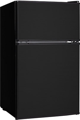 Midea WHD-113FB1 Reversible Double Door Refrigerator and Freezer