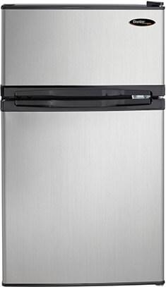 Danby DCR031B1BSLDD 2 Door Compact Refrigerator, 3.1 cu. ft.