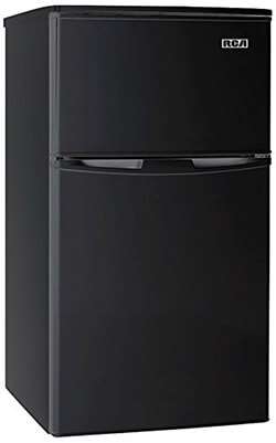 RCA-Igloo 2 Door Fridge and Freezer, 3.2 Cubic Foot