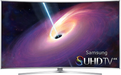 Samsung UN65JS9000 4K Ultra HD 3D Smart LED TV, 65-Inches