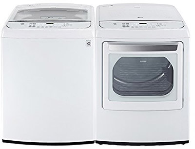 LG Top Load Washer with TurboWash, 4.9 cu. ft.