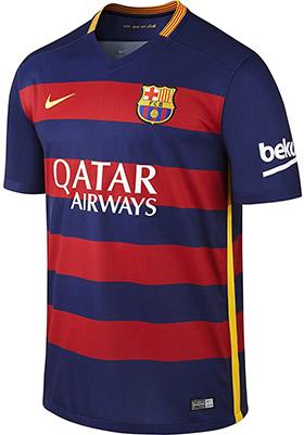 Nike Barcelona Home Stadium Jersey