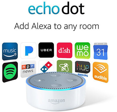 Echo Dot White 2nd Generation