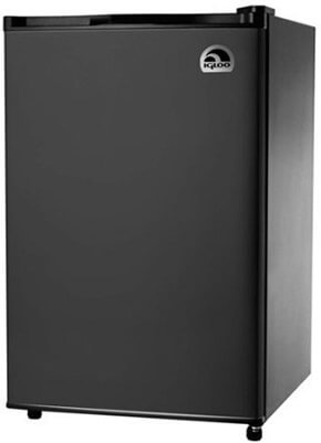Igloo Refrigerator and Freezer, 4.5 cu. ft.