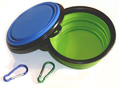 Comsun Collapsible Silicone Pet Bowl