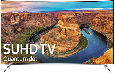 Samsung UN55KS8500 4K Ultra HD Smart LED TV 55-Inch-2016
