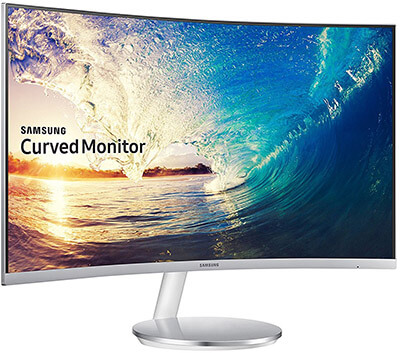 Samsung CF591 Series Curved FHD Monitor, 27-Inch