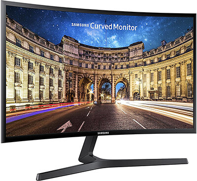 Samsung CF398 Series Curved FHD Monitor, 27-Inch
