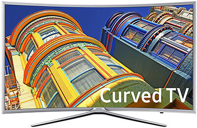 Samsung UN49K6250 Curved 1080P Smart LED TV, 49-Inch