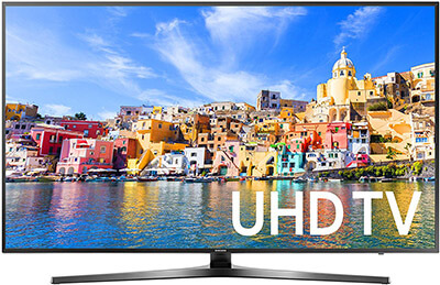 Samsung UN55KU7000 4K Ultra HD Smart LED TV, 55-Inch, 2016