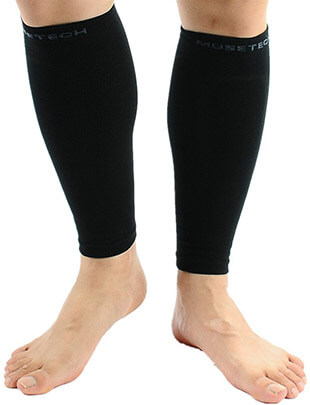 MUSETECH Compression Calf Leg Sleeves