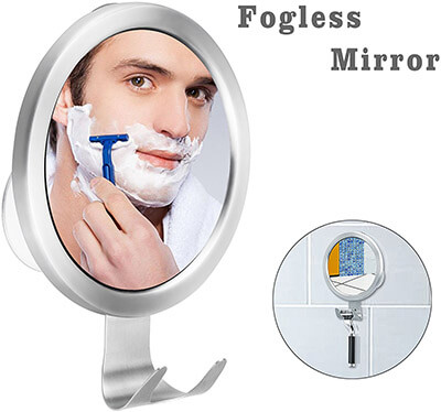 BUDGET & GOOD Fog-less Shaving Mirror