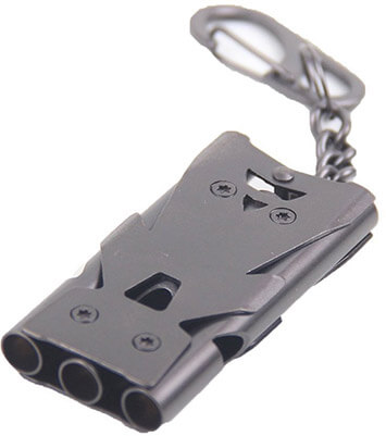 Gymforward Stainless Steel Keychain Whistle