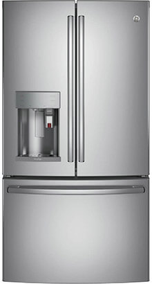 GE Profile PFE28PSKSS 36-Inch French door Refrigerator, 27.8 cu. ft.