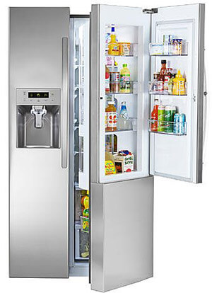 Kenmore 51833. Side-by-Side Refrigerator, 26.1 cu. Ft