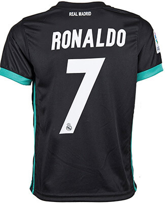 Soccer Authority Real Madrid #7 Ronaldo Kid Soccer Jersey